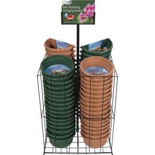 Display Unit for Hanging Baskets/Wall Baskets